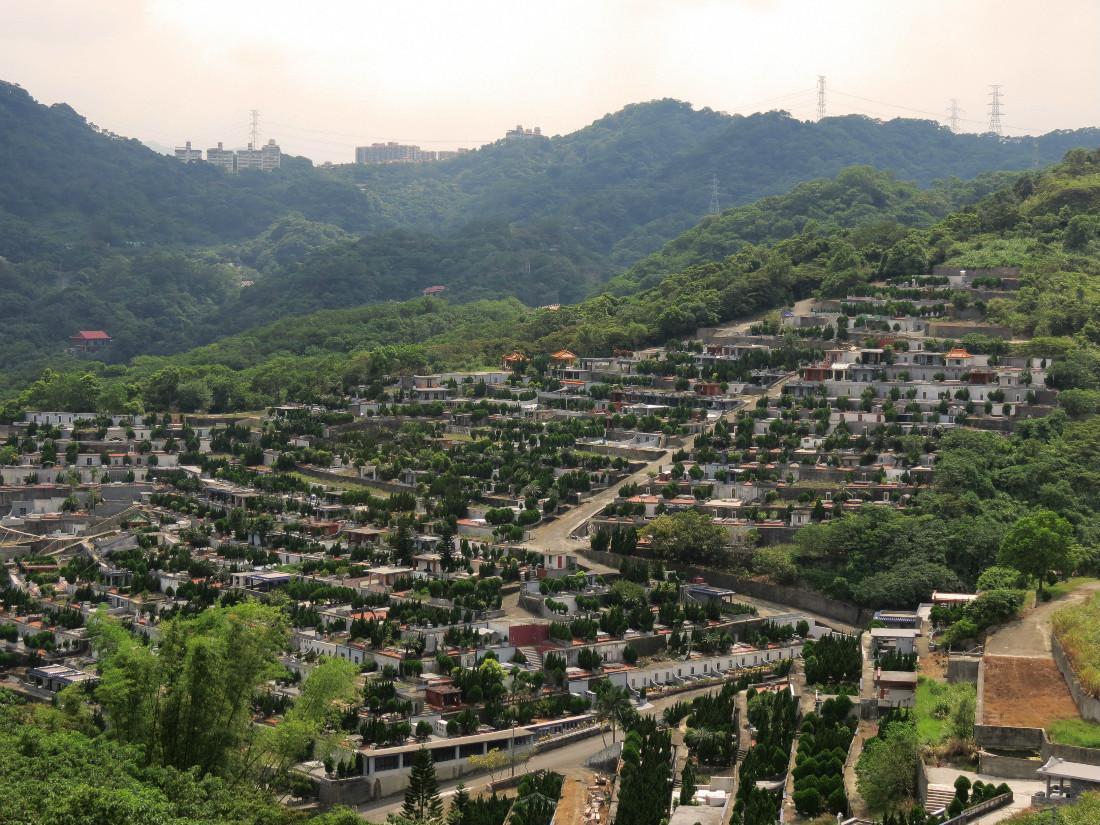 Graveyard in Taiwan
