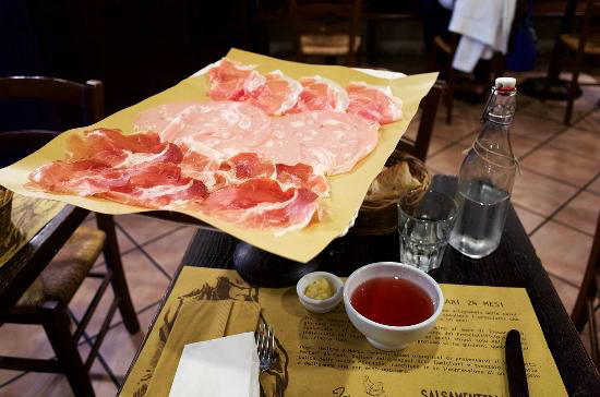 Where to get the best italian salami svenywhere your for Best lunch in milan