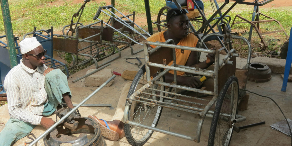 Tricycles Ghana