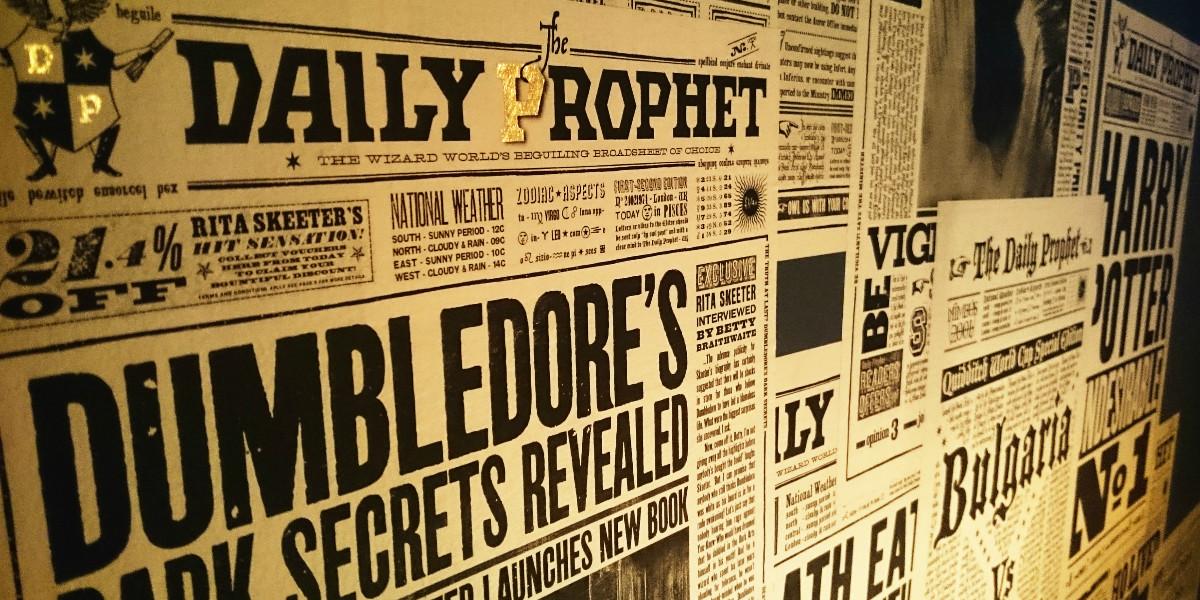 Harry Potter newspaper