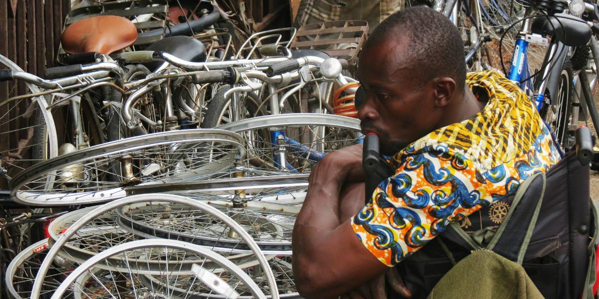 Ghana fietsen