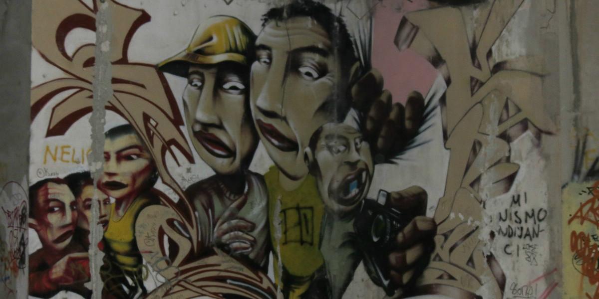 Graffiti Mostar