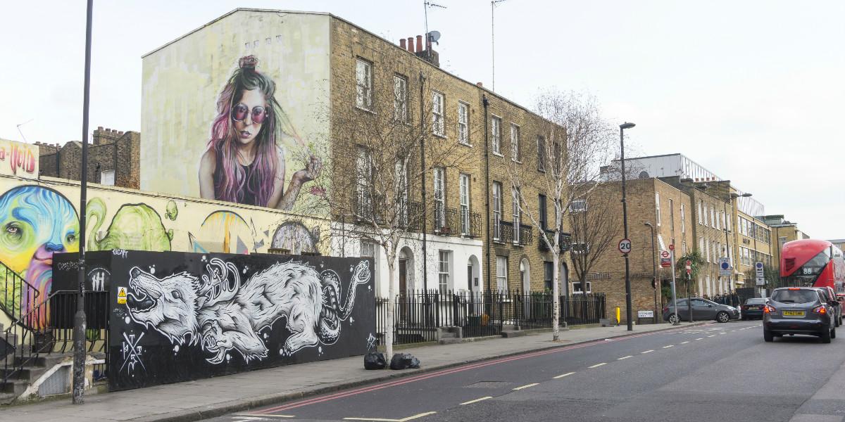 Graffiti Camden Town