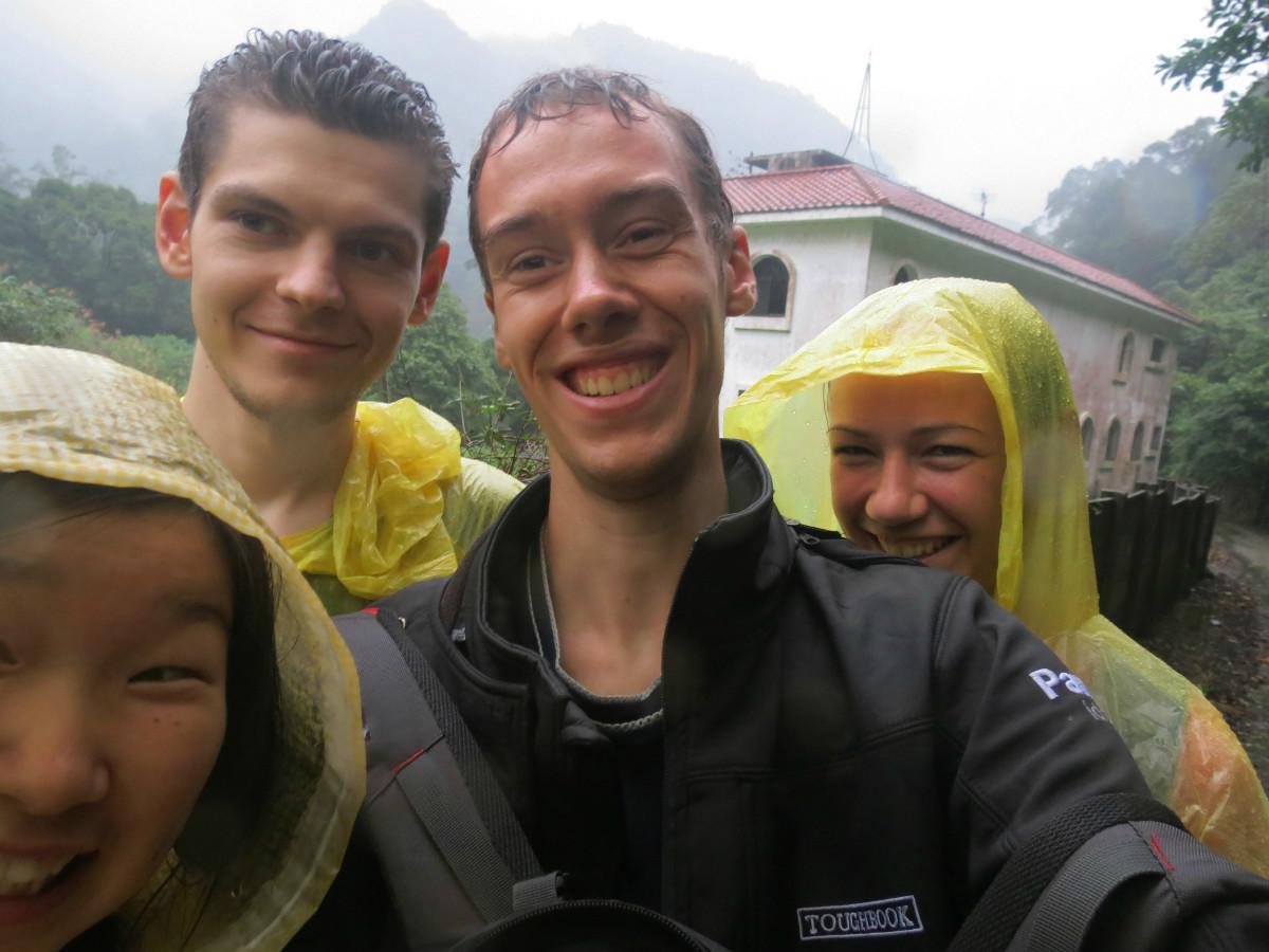 Rain hike Taiwan