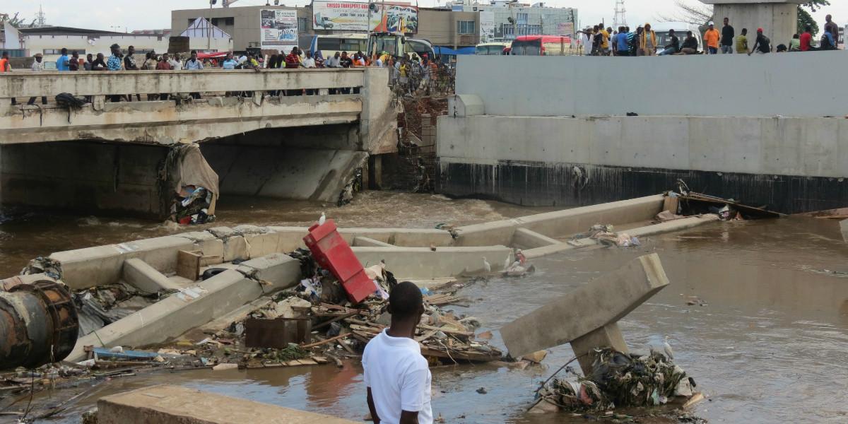 Overstroming Ghana