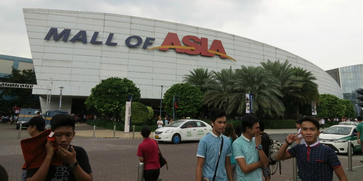 Winkelcentrum Filipijnen