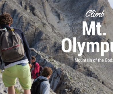How to climb Mt Olympus in Greece