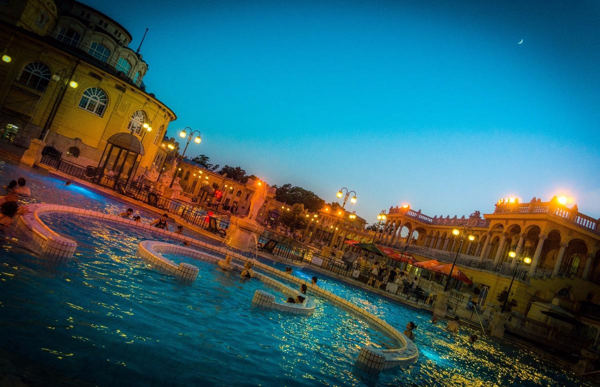 Szechenyi Thermal Bath Budapest