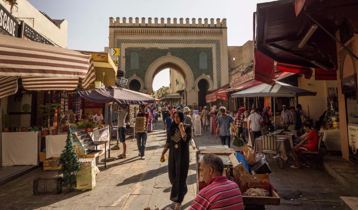Poort Fez Marokko