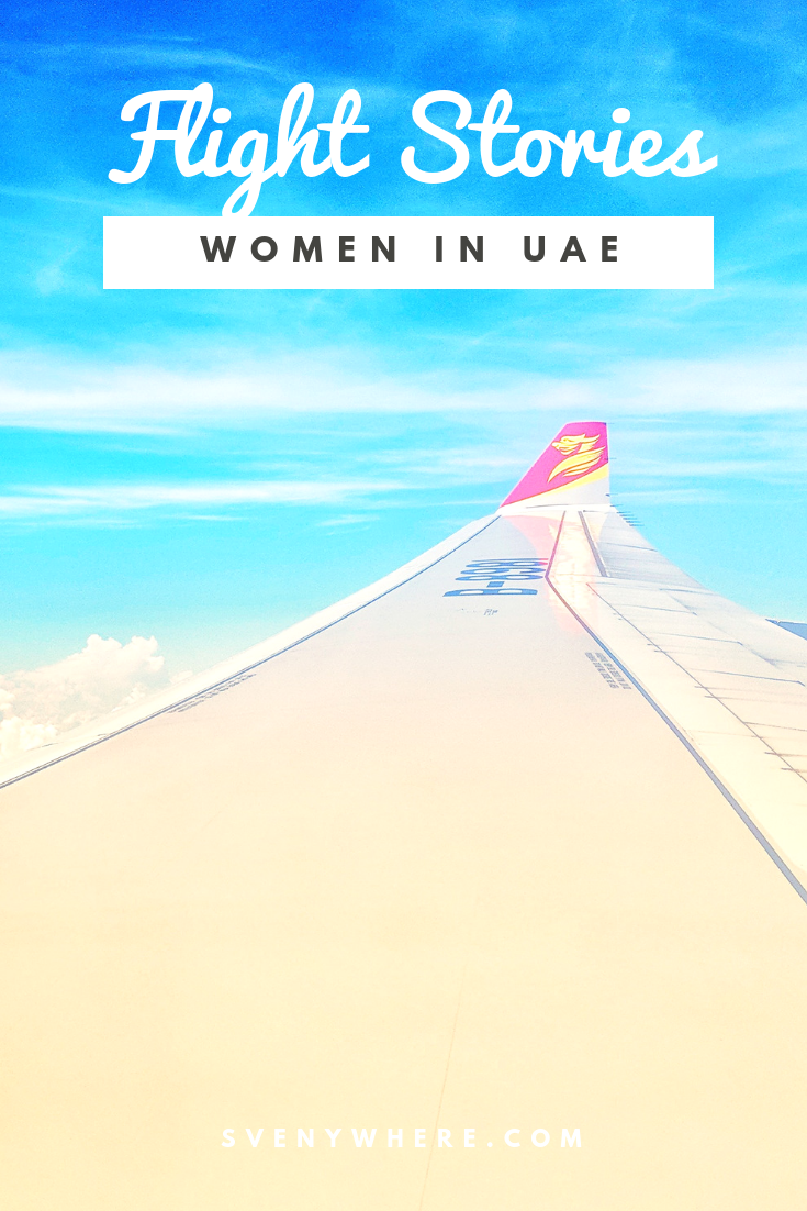 Flight Stories: Women in UAE - Svenywhere - Your hidden travel gems